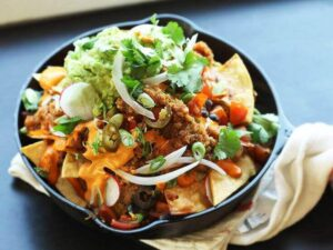 The fully loaded Vegan Nachos Recipe