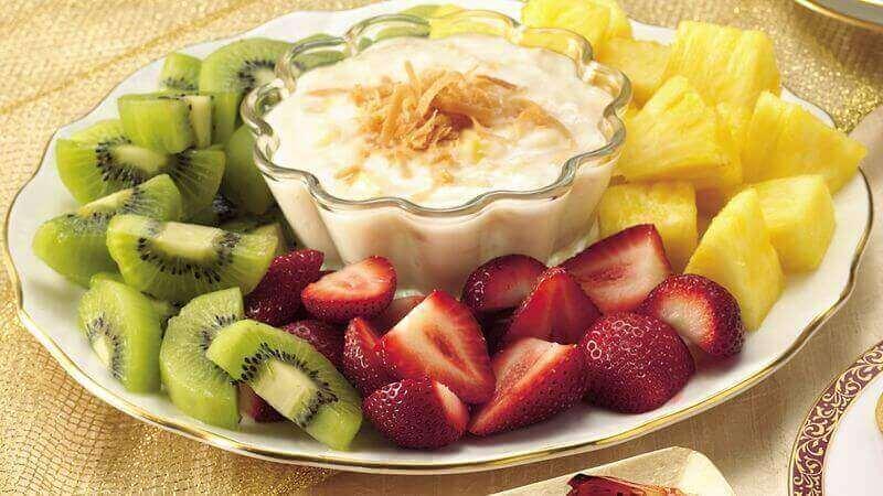 . Fruit and dip